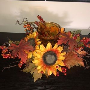 Thanksgiving candle holder